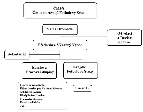 Struktura ČMFS