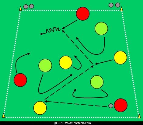 Udrž míč pod svou kontrolou 6:3